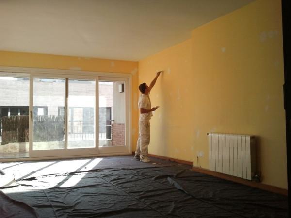 Pintamos piso completo